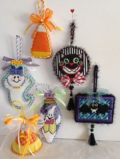 Getting ready for Halloween , these are going to Luv 2 Stitch in San Meteo, Ca.