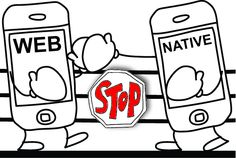 Let's Stop Fighting The Native vs. Web App Wars  Can we stop fighting or comparing The Native vs. Web Application? Let's have a look on the native and web application, and What James Long think about this.  #nativApps #Mobile #Tech #WebApps #TechWar