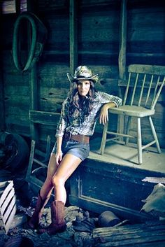cowgirl. and awesome photography.