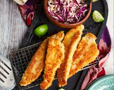 Gone Fishin': Catfish Tacos With Chipotle Slaw Recipe - Food Republic