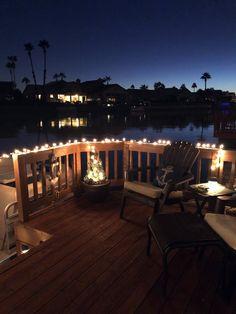 Lake View, Deck, Patio, Outdoor Decor, Home Decor, Decoration Home, Room Decor, Front Porches, Home Interior Design