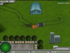 La misión ha empezado y es eliminar a los enemigos con un gran tanque de guerra.