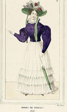 Modes de Femmes 1826, LACMA Collections Online