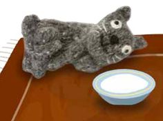 Max the Cat (Free Knitting Pattern)