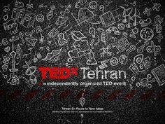 TEDx Tehran 2013 by SoHail Sadeghzadeh, via Behance