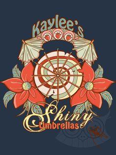Kaylee's Shiny Umbrellas by Mareve-Design.deviantart.com on @deviantART