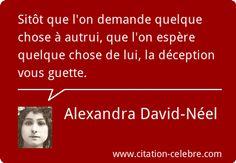 Alexandra David-Néel :