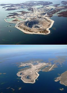 Diavik Mine, Canada | 10 Most Fascinating Holes on Earth