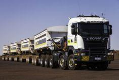 Scania Australian Road Train.