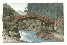 Yoshida Hiroshi: Sacred Bridge - Japanese Art Open Database