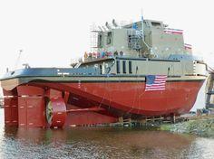 Van der Velden BARKE® high-lift flap rudders installed in new US Ocean Going ATB