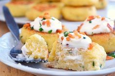 Loaded Mashed Potato Cakes | Just Putzing Around the Kitchen