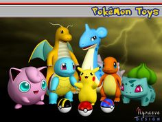 Pokemon Toys honors the most celebrated first generation Pokemon. Gotta Catch'em…