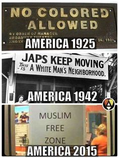 History repeating itself, for we have too many Americans who do not know our country's history