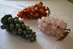 Grappoli uva pietre dure