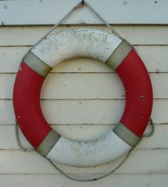 red and white life preserver - #nautical