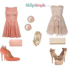 Which sparkle outfit do you like best?  Get the left dress(US$23.00)--> http://shopsimple.com/VvAv2m Get the right dress(US$120.00)--> http://shopsimple.com/ANNRvm