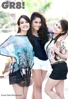 Surbhi Jyoti, Sana Khan, Hunar Hali #Style #Bollywood #Fashion #Beauty