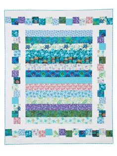 Quite Contrary, I like the border. I may modify the concept to design my own quilt.