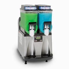 Bunn Ultra-2 HP High Performance Slushy / Granita Frozen Drink Machine with 2 Hoppers - Black & Stainless Steel..for my home bar...