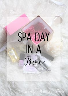 Gift For Her - Spa Day in Box. Great Mother's day gift idea!