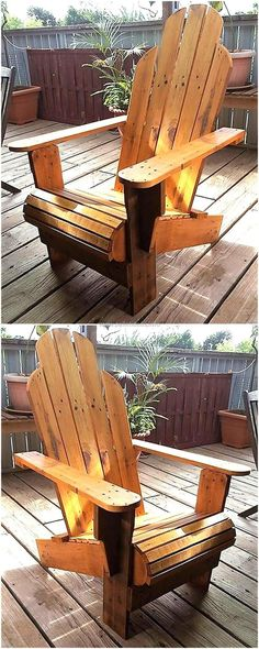 Just have an eye on the thought-provoking appearance of this reclaimed wooden pallets chair. This is an extraordinary creation that we have entirely created with the help of few wood crafting tools and with the useless wooden pallets boards easily available in all wood furniture markets.