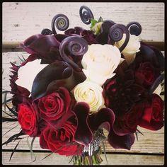 Bridal bouquet by Fleurt Floral Art @bellefleure #flowers