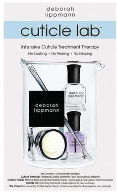 Deborah Lippmann Cuticle Lab Intensive Cuticle Treatment Therapy Set #HairLossInFall #OilForHairLoss