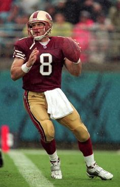 7. Steve Young, Tampa Bay Buccaneers, San Francisco 49ers