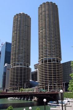 Marina Towers--Bertrand Goldberg Chicago, Illinois (Was there for the grand opening)
