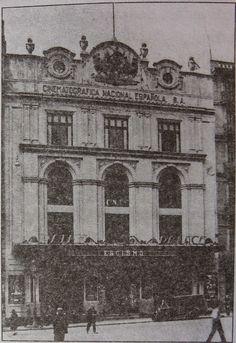 El Acorazado Cinéfilo - Le Cuirassé Cinéphile: Palacio del Cinema (Pathé Palace). Barcelona - Francisco Huertas Hernández