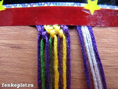 How to DIY Friendship Bracelet in Leaf Pattern | www.FabArtDIY.com