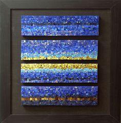 Blues Quartet | by Marian Shapiro - Mosaics