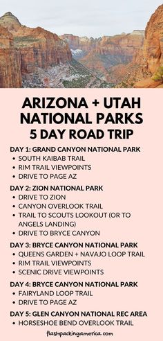 Pacific Coast Highway, West Coast Road Trip, Us Road Trip, Bryce Canyon, Zion Canyon, Vacation Ideas, Utah Vacation, Best Vacation Spots, Vacation Places