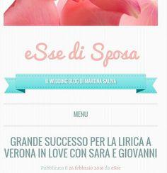Il successo della lirica a Verona in Love con Sara e Giovanni #essedisposa #weddingblog #martinasaliva #happy #time #sposi #amore #anello #silovoglio  #wedding #love #lirica