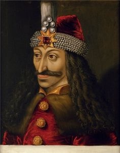 Painting of Dracula Vlad III the Impaler Prince of Wallachia
