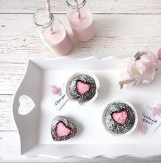 Valentinstag Cupcakes ❤ Rezept auf www.lovely-joys.de
