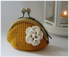 Crochet coin purse por PitusasyPetetes en Etsy, €15,00