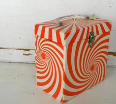 SEVENTIES BOX FOR MUSIC RECORDS