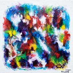 NEW PAINTING  Horizon III  80x80 cm  My website: https://artbylonfeldt.dk/  #art #arts #paintings #painting #fineart #artbylonfeldt