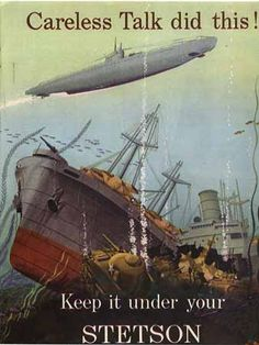 Then: Loose lips sink ships  Today:  Loose tweets sink fleets