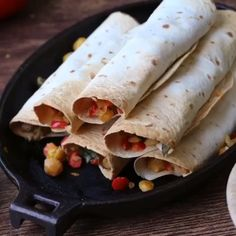 Vegan chickpea flautas by .⠀ Ingredients:⠀ 1 can chickpYou can find Healthy breakfast and more on our website.Vegan chickpea flautas by . Vegetarian Recipes Videos, High Protein Vegetarian Recipes, Healthy Vegan Desserts, Vegetarian Recipes Dinner, Entree Recipes, Vegan Dinners, Cooking Recipes, Dinner Healthy, Lunch Recipes