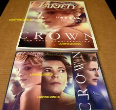 VARIETY MAGAZINE DECEMBER 9 2020 PRINCESS DIANA CROWN EMERALD MULLIGAN EMMA RYAN