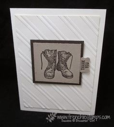 Stamp & Scrap with Frenchie: For Your Country for Masculine Monday Blog Candy