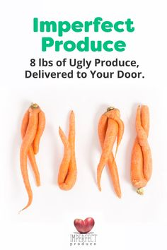 Did you know that 1 in 5 pieces of produce end up being wasted because they're not pretty enough? This perfectly healthy, delicious produce is rejected by grocery stores because of its cosmetic quirks--its too big, too small, or oddly shaped. Imperfect Produce, Vegan Recipes, Cooking Recipes, Cooking Videos, Fish Recipes, Vegan Food, Recipies, Snack Recipes, Dinner Recipes