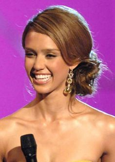 Jessica Alba Red Carpet Hairstyles Hair Styles Design 230x322 Pixel