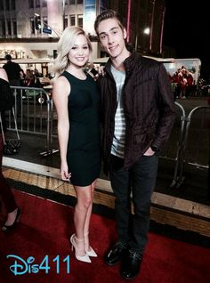"Video: Olivia Holt And Austin North Talked About ""I Didn't Do It"" While At The Hollywood Christmas Parade"