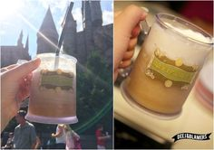 Homemade Frozen Butterbeer recipe! Just like at Harry Potter World!