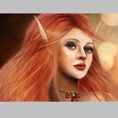 Рисуем портрет в Фотошоп / Photoshop уроки и всё для фотошоп - новые уроки каждый день!