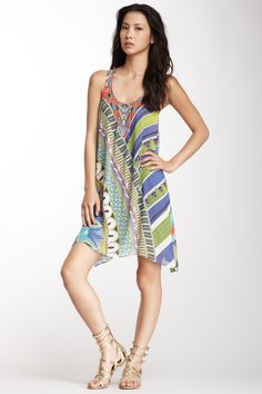 Boheme Silk Georgette Oversized Tank Dress <3.  Love the style for after the beach. $$$???